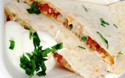 Quesadillas vegetarisch
