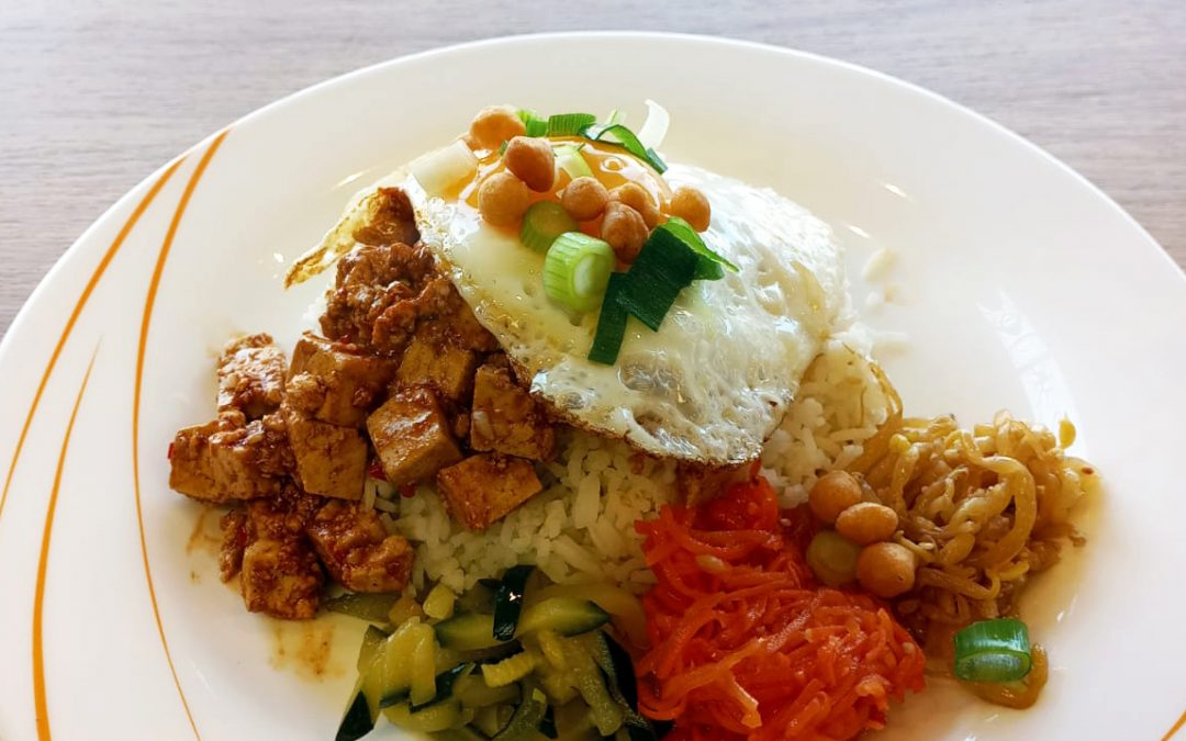 Bibimbab BBQ-Tofu